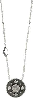 Freida Rothman Industrial Finish Pendant Necklace