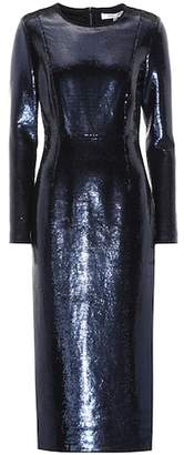Diane von Furstenberg Sequin-embellished midi dress