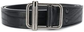 Lanvin classy buckle embellished belt