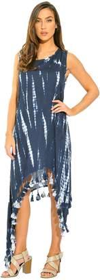 Riviera Sun 21616-NVY-XL Summer Dresses/Sundresses for Women