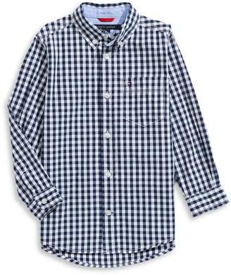 Tommy Hilfiger Little Boy's Checkered Button-Down Shirt