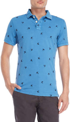 Superdry Swallow Embroidered Short Sleeve Polo