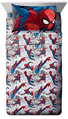 Spiderman Marvel Burst Twin 3 Piece Sheet Set