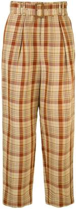 TOMORROWLAND belted waist trousers
