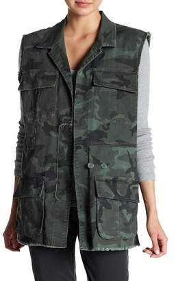 SUPPLIES BY UNION BAY Mitchell Woodland Camo Twill Vest
