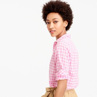 Boy shirt in crinkle gingham $59.50 thestylecure.com