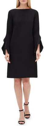 Lafayette 148 New York Emory Finesse Crepe Shift Dress, Plus Size