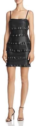 Bailey 44 Dark Wave Faux Leather Dress