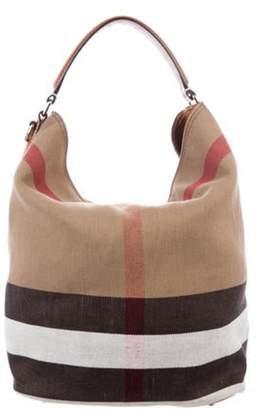 Burberry House Check Bucket Bag brown House Check Bucket Bag