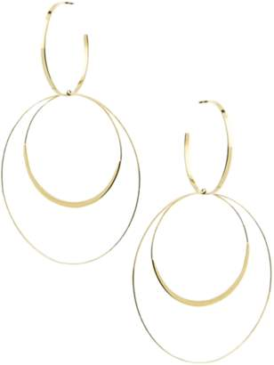 Lana Tri Wire Bond Hoops