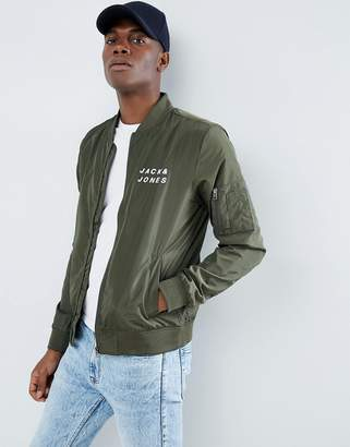 Jack and Jones Lightweight Bomber Jacket