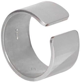 Gap Edge Only Ring Mens Silver