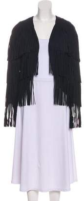 Tom Ford Fringe-Accented Jacket w/ Tags