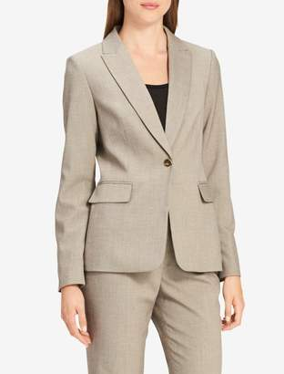 Calvin Klein single button peak lapel blazer