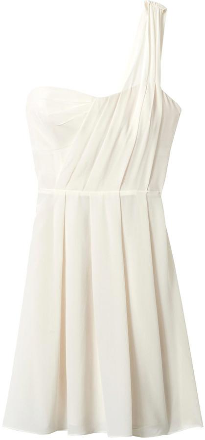 Rebecca Taylor One Shoulder Dress