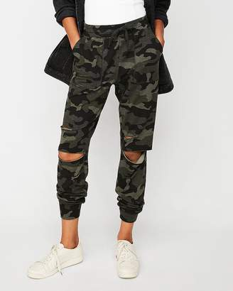 Express One Eleven Destroyed Jogger Pant