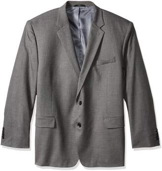 Haggar Men's Big and Tall J.m Premium Stretch Classic Fit 2-Button Coat