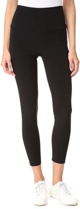 Norma Kamali Crop Leggings $99 thestylecure.com