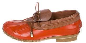 Tory Burch Round-Toe Rubber Soles