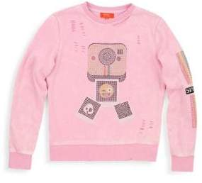 Butter Shoes Girl's Mineral Wash Pullover