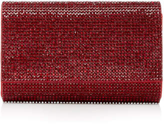 Judith Leiber Couture Fizzy Crystal-Embellished Clutch