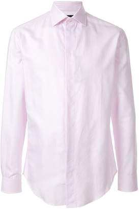 Emporio Armani textured shirt