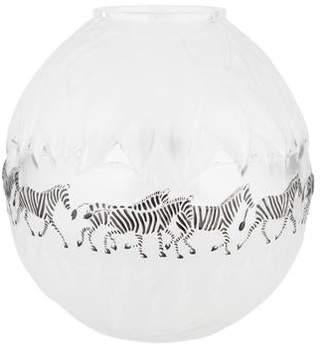 Lalique Tanzania Crystal Vase