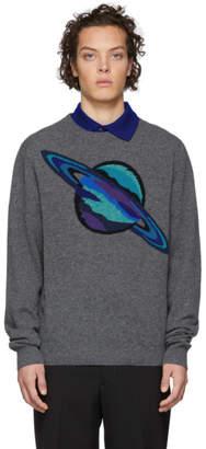 Paul Smith Grey Wool Saturn Sweater