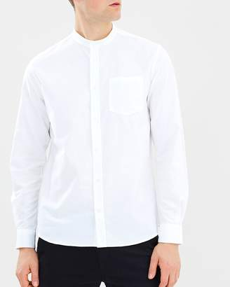 Norse Projects Hans Collarless Oxford Shirt