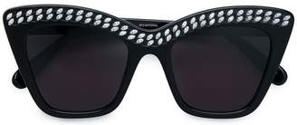 Stella McCartney Eyewear crystal embellished cat eye sunglasses
