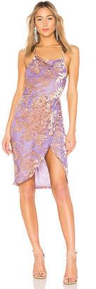 LPA Halter Wrap Dress