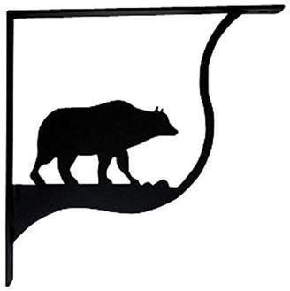 Village Wrought Iron Bear Shelf Support