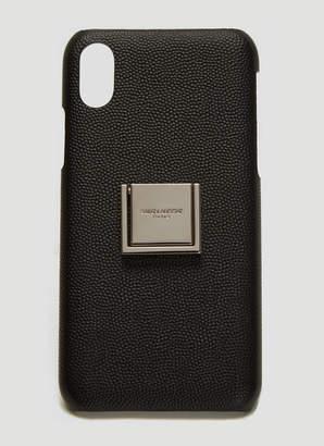 Saint Laurent Logo iPhone Case in Black
