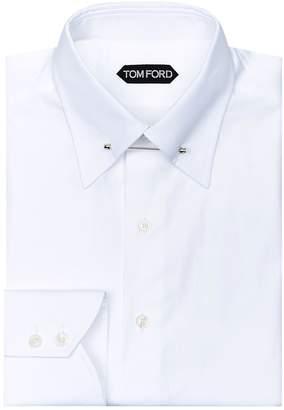 Tom Ford Pin Collar Shirt