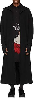 Yohji Yamamoto Men's Wool-Cotton Robe Cardigan
