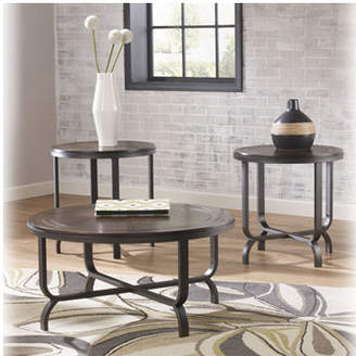 Signature Design by Ashley Cadence 3 Piece Coffee Table Set