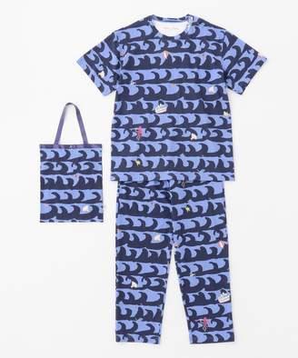 Tsumori Chisato (ツモリ チサト) - tsumori chisato SLEEP 5分袖+ロング丈 トートバック付 メンズパジャマ/ワコール(C)FDB