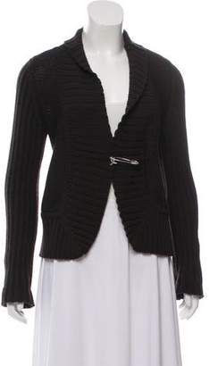 Les Copains Wool Knit Cardigan