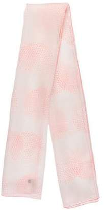 Emporio Armani Silk Printed Shawl