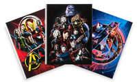 Disney Marvel's Avengers: Infinity War Composition Notebook Set