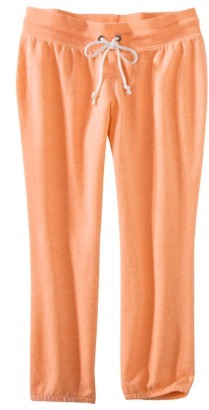 Xhilaration Juniors French Terry Cropped Pant - Assorted Colors