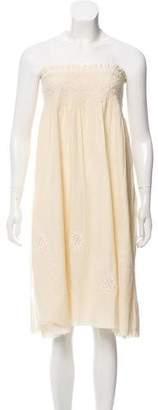 Current/Elliott Strapless Mini Dress