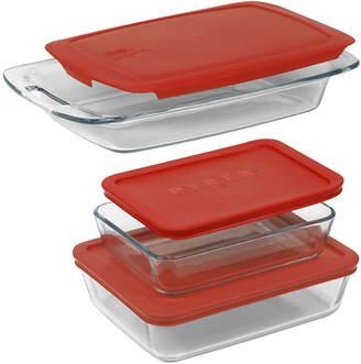 Pyrex 6-pc. Easy Grab Bakeware Set