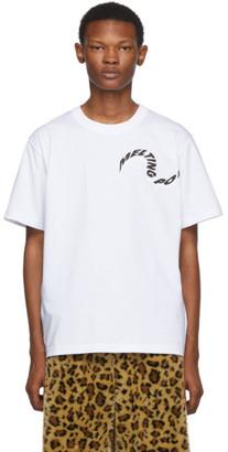 Sacai (サカイ) - Sacai ホワイト Melting Pot T シャツ