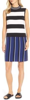 Lou & Grey Stripemarl Sweater Dress