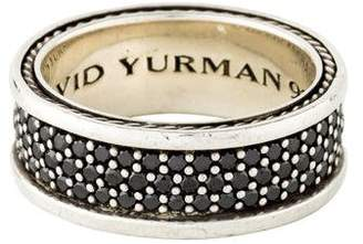 David Yurman Black Diamond Streamline Band