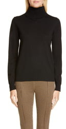 Rosetta Getty Merino Wool Turtleneck Sweater