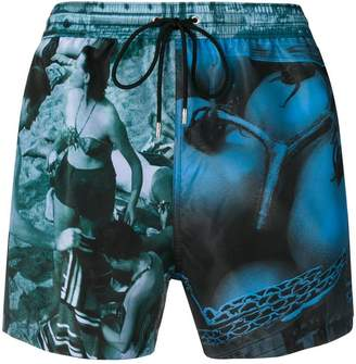 Paul Smith photo print swimming trunks