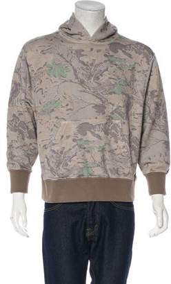 Yeezy 2016 Foliage Print Pullover Hoodie