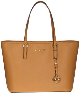 Michael Kors Shopping Jet Set Travel Top Zip Tote